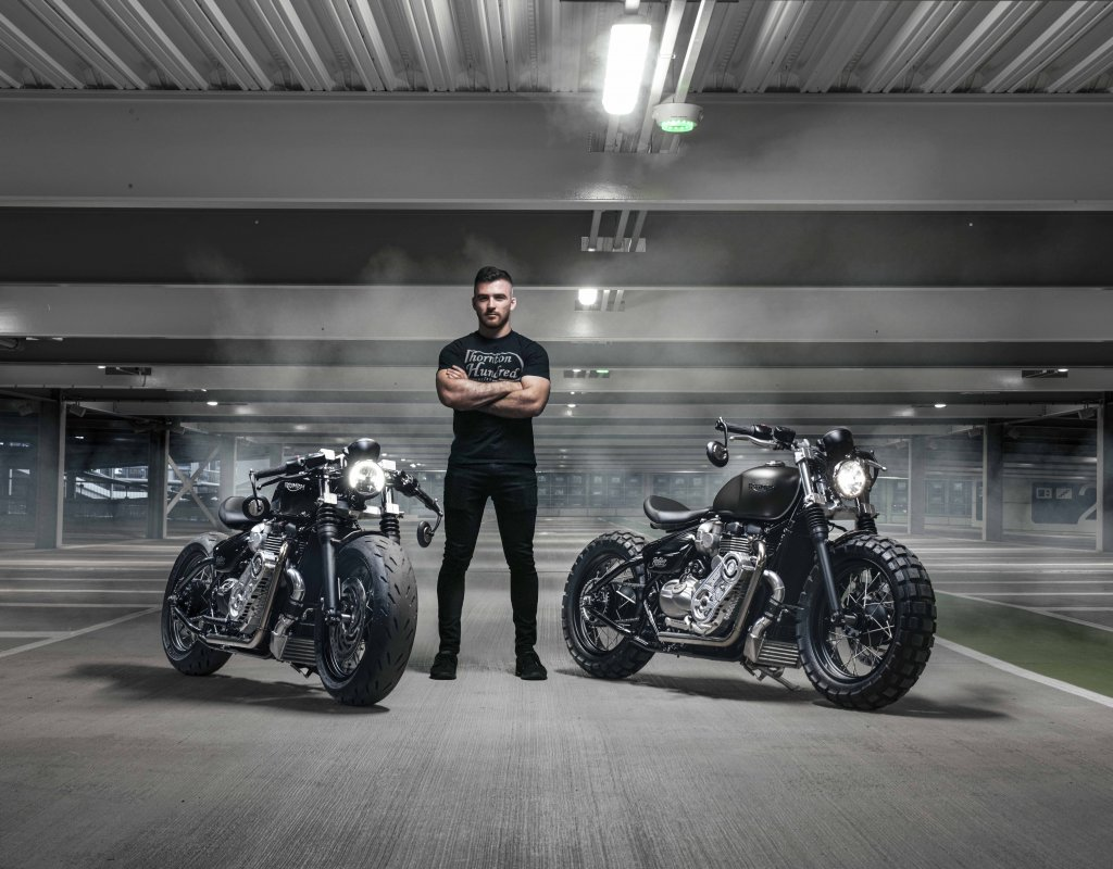 commission your dream build with Thornton Hundred motorcycles today